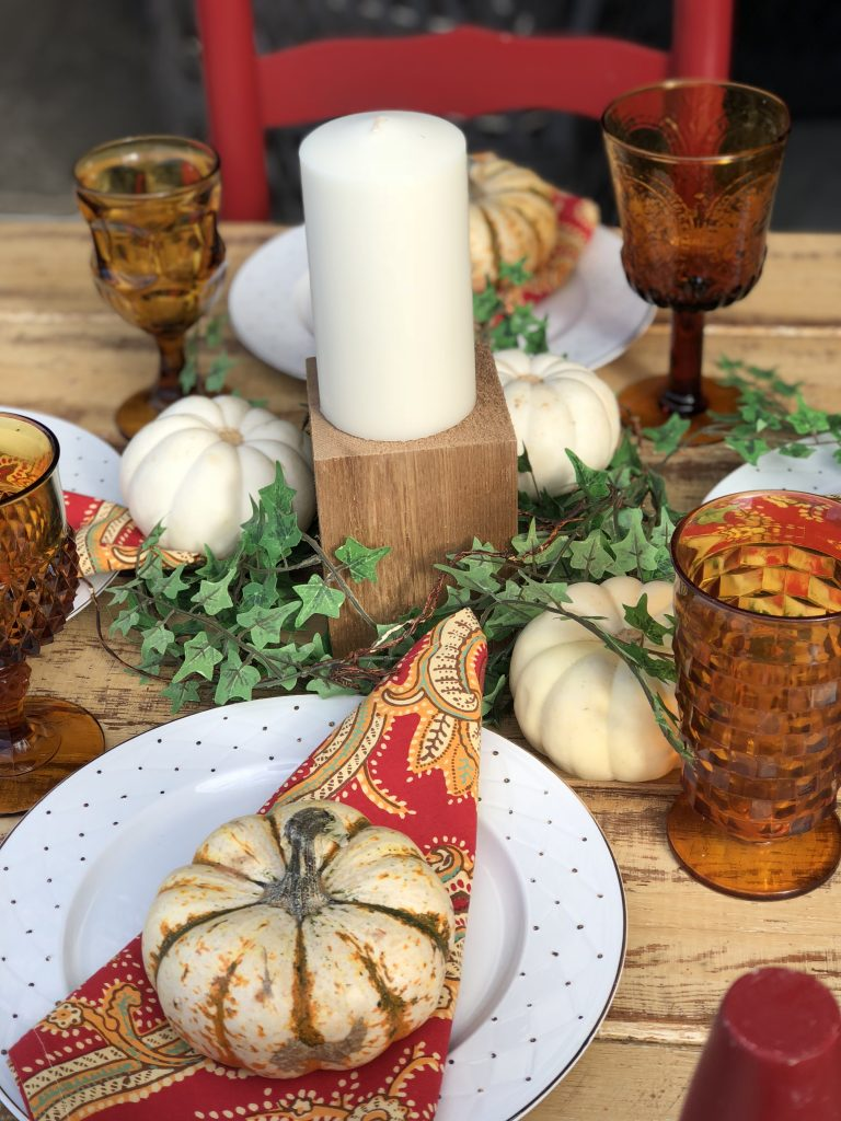 Fall 2017 Tablescape