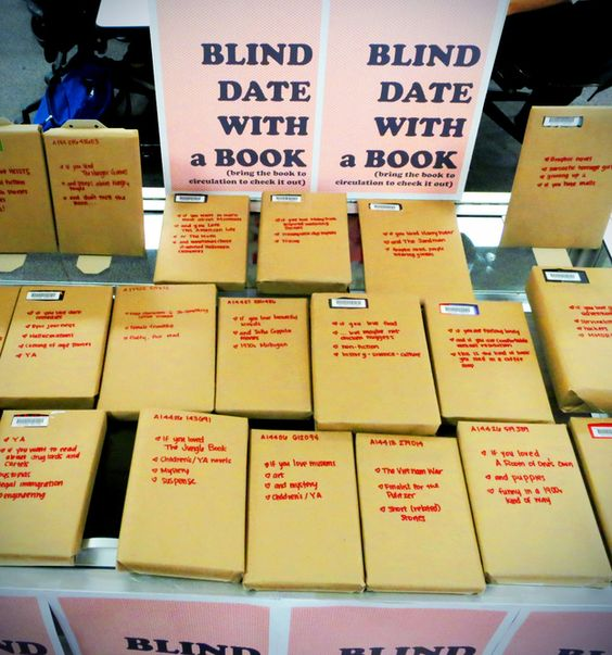 Blind Date With A Book - Jordan Tailored - Valentine's Day