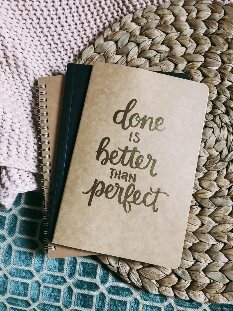Done Is Better Than Perfect - Jordan Tailored