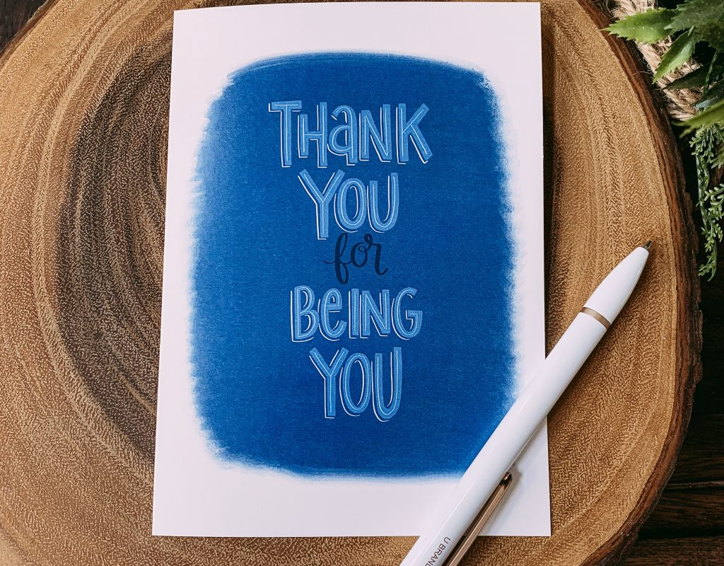 Intentional Gratitude: What to Write in a Thank You Card