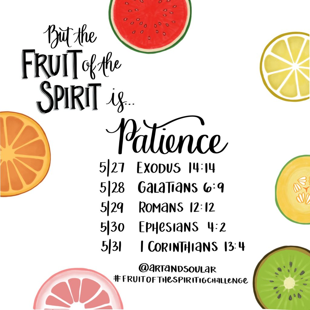 Jordan Tailored - Art and Soul AR - Fruit of the Spirit IG Challenge