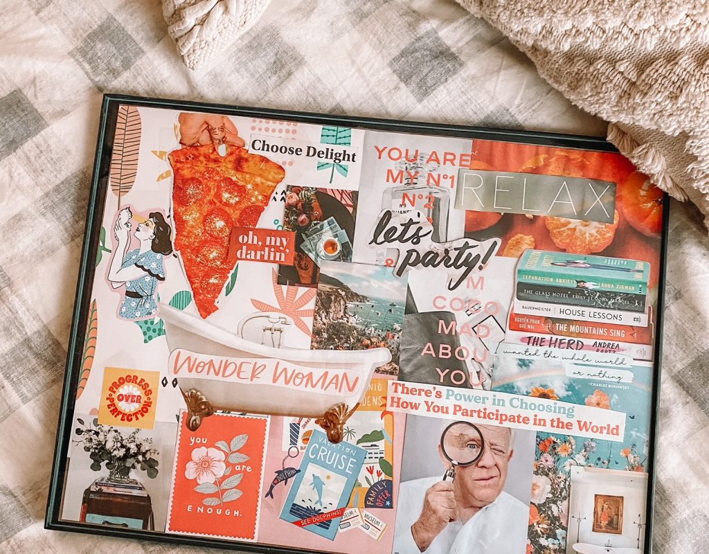 2021 Goals + My Vision Board