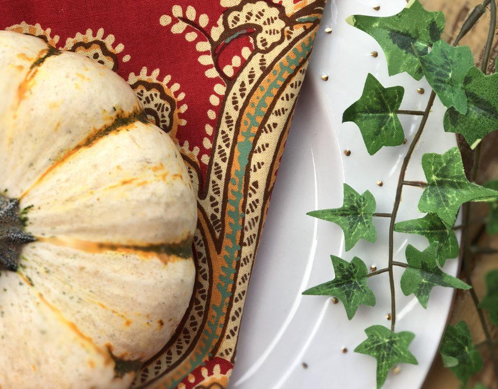 Festive Fall Tablescape