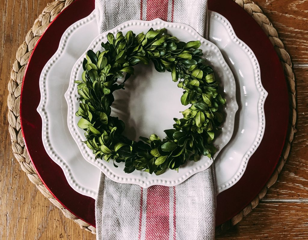 Christmas Tablescapes & Simple Hospitality
