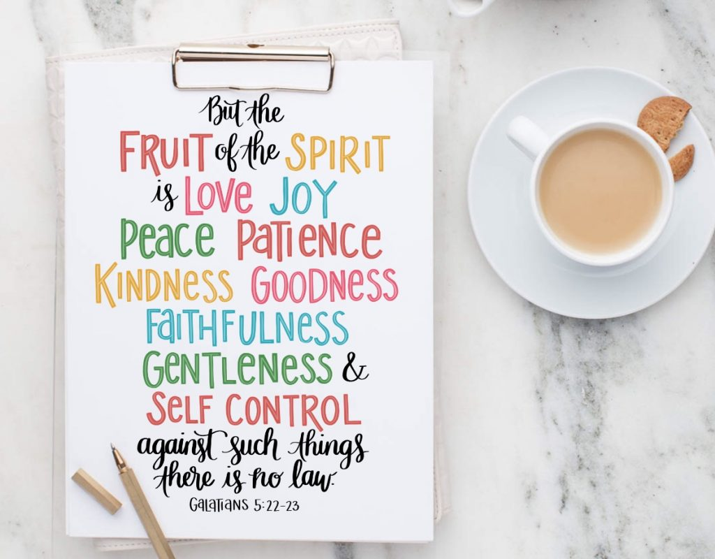 Fruits of the Spirit: Love